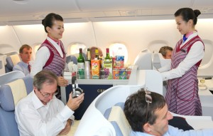 China-Southern-Airlines-A380-Business-Class-Cabin-Service